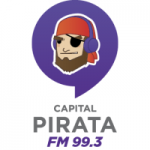 Logo da emissora Radio Capital Pirata 99.3 FM