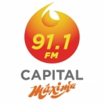 Logo da emissora Radio Capital Máxima 91.1 FM