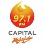 Logo da emissora Radio Capital Máxima 97.1 FM