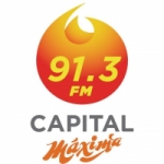 Logo da emissora Radio Capital Máxima 91.3 FM