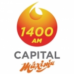 Logo da emissora Radio Capital Máxima 1400 AM