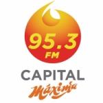Logo da emissora Radio Capital Máxima 95.3 FM