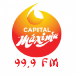 Logo da emissora Radio Capital Máxima 99.9 FM