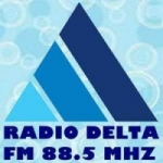 Logo da emissora Rádio Delta 88.5 FM