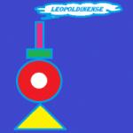 Logo da emissora Rádio Leopoldinense
