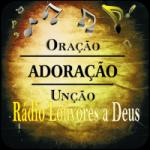 Logo da emissora Rádio Louvores a Deus