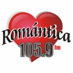 Logo da emissora Radio Romántica 105.9 FM