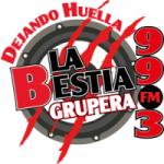 Logo da emissora Radio La Bestia Grupera 99.3 FM