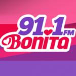 Logo da emissora Radio Bonita 91.1 FM