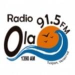 Logo da emissora Radio Ola 91.5 FM