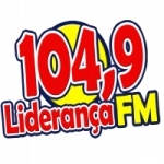 Logo da emissora Rádio Liderança 104.9 FM
