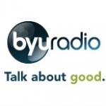 Logo da emissora KWBR 105.7 FM