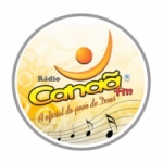 Logo da emissora Rádio Canaã FM