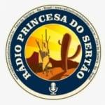 Logo da emissora Rádio Princesa do Sertão