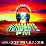 Logo da emissora Rádio Nordeste FM Brasília