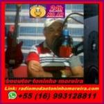 Logo da emissora Rádio Modão Toninho Moreira