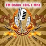 Logo da emissora Radio Bahia 104.1 FM