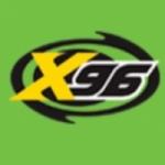 Logo da emissora KXRK X 96.3 FM