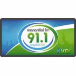 Logo da emissora Radio Manantial 91.1 FM