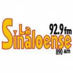Logo da emissora Radio La Sinaloense 92.9 FM