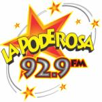 Logo da emissora Radio La Poderosa 92.9 FM