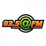 Logo da emissora Radio Arroba 93.5 FM