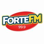 Logo da emissora Rádio Forte 99.9 FM