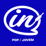Logo da emissora Rádio IN Pop Jovem