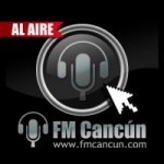 Logo da emissora FM Cancún Radio