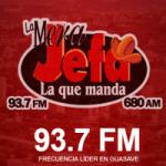 Logo da emissora Radio La Mera Jefa 93.7 FM