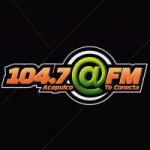 Logo da emissora Radio Arroba 104.7 FM