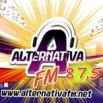 Logo da emissora Rádio Alternativa 87.5 FM