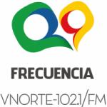 Logo da emissora Radio Frecuencia VNorte 102.1 FM
