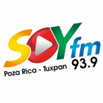 Logo da emissora Radio Soy 93.9 FM