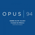 Logo da emissora Radio Opus 94.5 FM HD 1