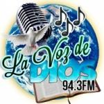 Logo da emissora Radio Estéreo La Voz de Dios 94.3 FM