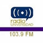 Logo da emissora Radio Universidad 103.9 FM