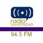 Logo da emissora Radio Universidad 94.5 FM