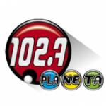 Logo da emissora Radio Planeta 102.7 FM