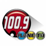 Logo da emissora Radio Planeta 100.9 FM