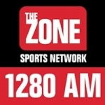 Logo da emissora KZNS 1280 AM