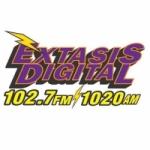 Logo da emissora Radio Éxtasis Digital 102.7 FM