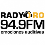 Logo da emissora Radio Oro 94.9 FM