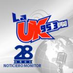 Logo da emissora Radio La Uk 95.3 FM