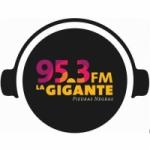 Logo da emissora Radio La Gigante 95.3 FM