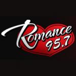 Logo da emissora Radio Romance 95.7 FM
