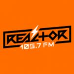Logo da emissora Radio Reactor 105.7 FM HD 1