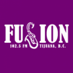 Logo da emissora Radio Fusión 102.5 FM