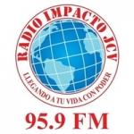 Logo da emissora Radio Impacto 95.9 FM