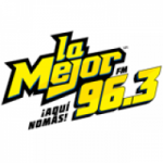 Logo da emissora Radio La Mejor 96.3 FM
